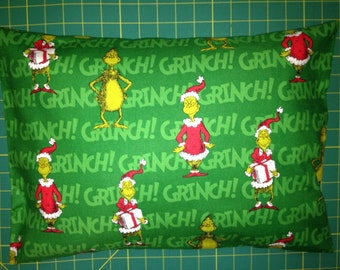 Grinch pillow etsy for Bah humbug door decoration
