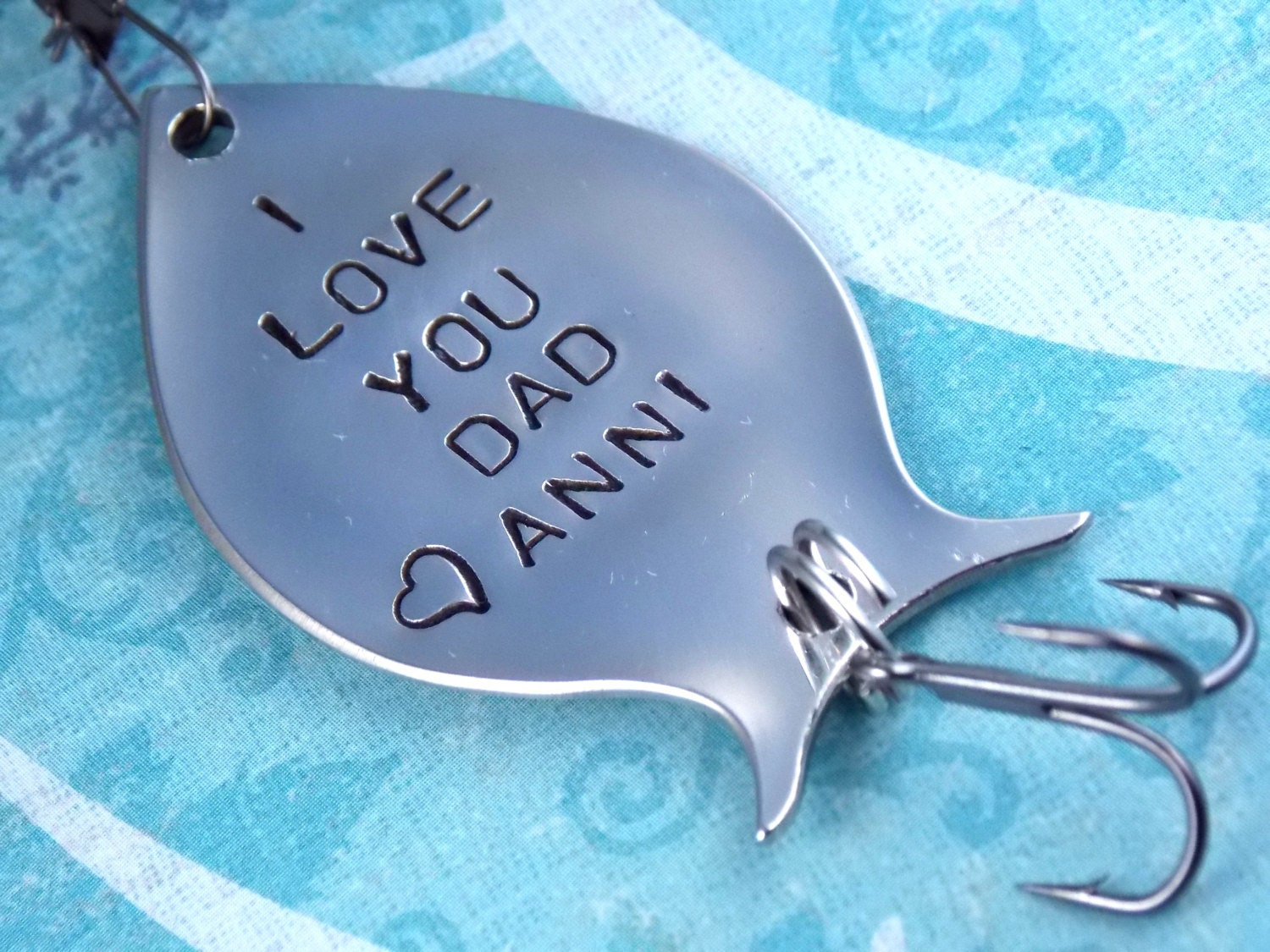Fathers day gift personalized fishing lure custom by for Personalized fishing lure