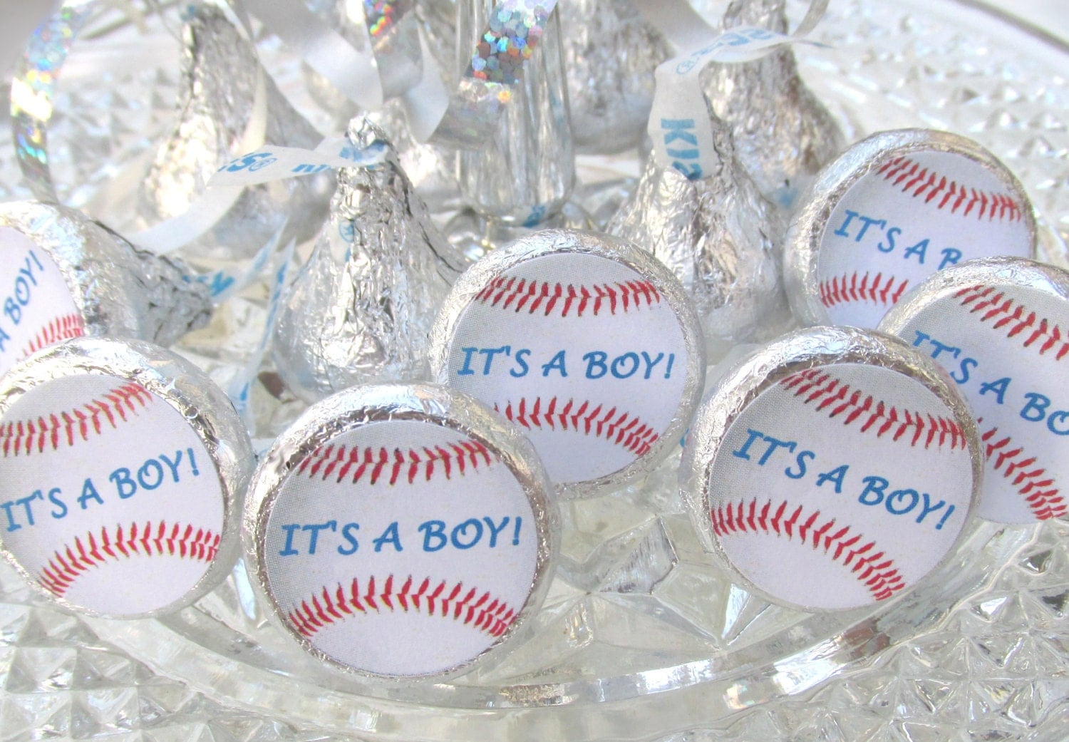 baseball sports baby shower its a boy party favors stickers, Baby shower invitation