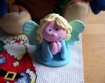 Praying Angel in polymer clay