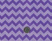 PURPLE CHEVRON fabric - Galaxy - purple tonal, monotone cotton fabric, lavender, lilac, zig zag fabric, purple fabric