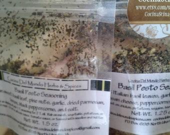 Wholesale Basil Pesto Seasoning 10-20 Pouches