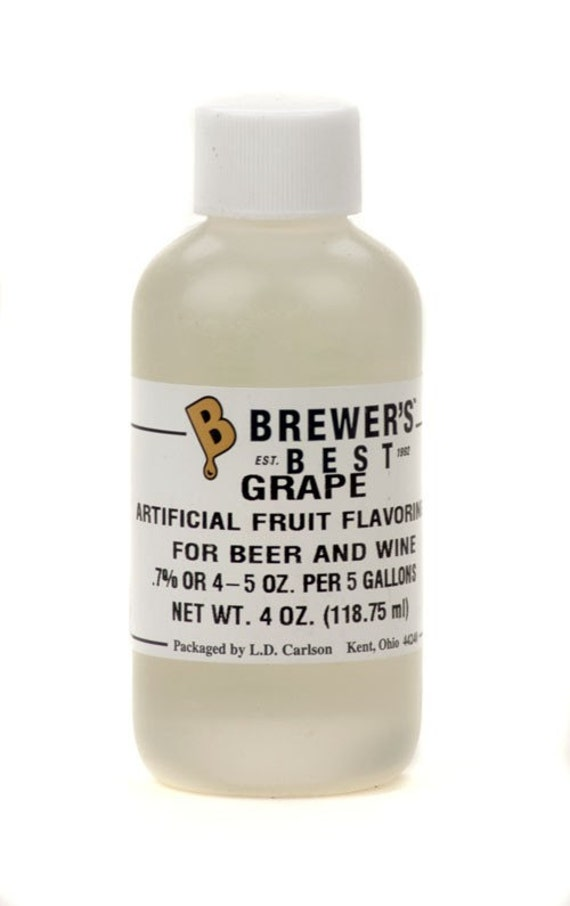 Grape Flavoring Extract For  Home Wine Making Beer Making 4 Ounces
