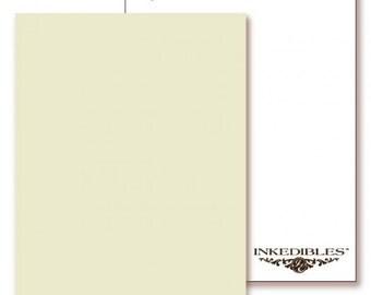 Inkedibles Premium Frosting FlavorSheets: 3 pack Letter Size (Pina Colada flavor/scent)