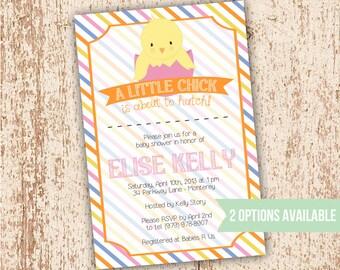 Little Chick - Baby Shower Invitation