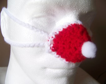 Santa Hat Nose Warmer