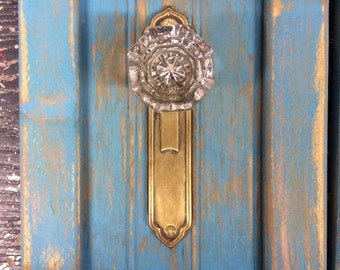 Antique door knob coat rack, towel or even jewelry