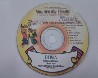 You Are My Friend Children Personalized CD