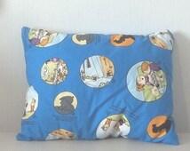 Family Circus cartoon  pillow