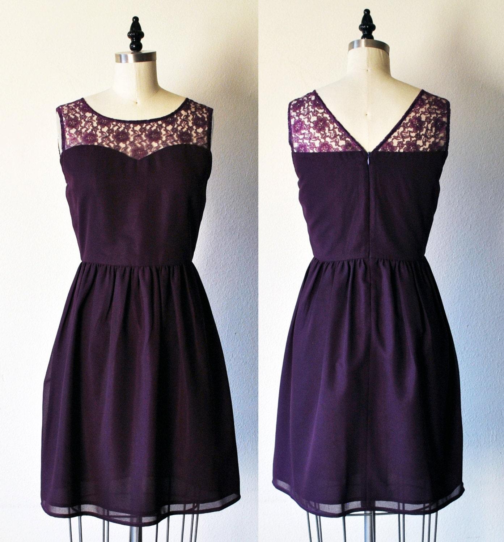 Plum dress | Etsy