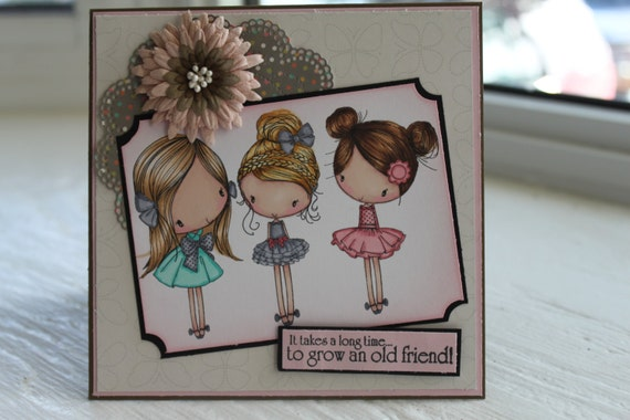 It Takes A Long Time To Grow An Old Friend Freindship Card