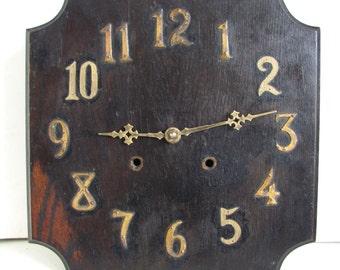 1910s Arts & Crafts Wooden Vintage Clock