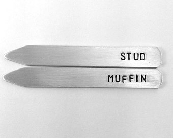 10 year anniversary gift, aluminum anniversary, gifts for him, stud muffin, funny gift for him, tin anniversary