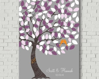 Wedding Guest Book Wedding Tree - Unique Wedding Gift Wedding Keepsake Guest Book Print - Wedding Poster - Wedding Print - Guest Book Tree