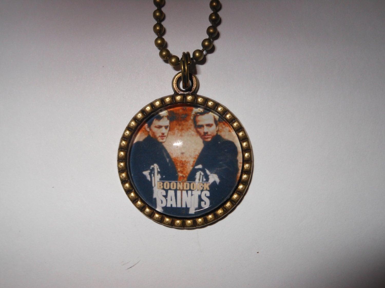 boondock saints pendant necklace veritas aequitas connor