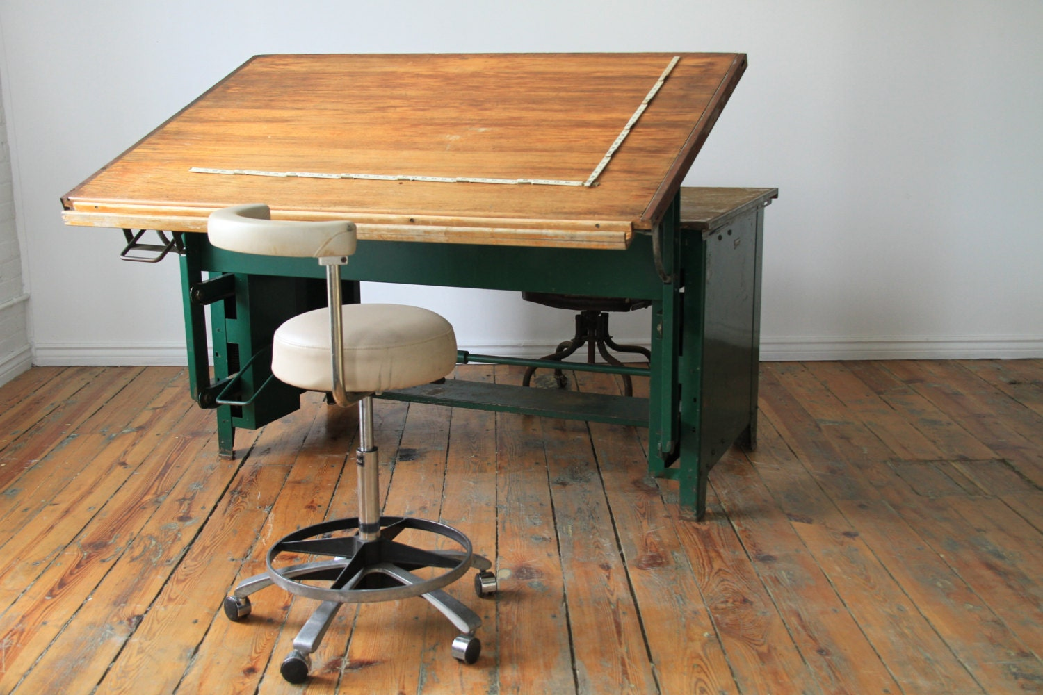 drafting table desk combo biantable - Antique Drafting Table Toronto. Studio Designs 2piece Vision Craft