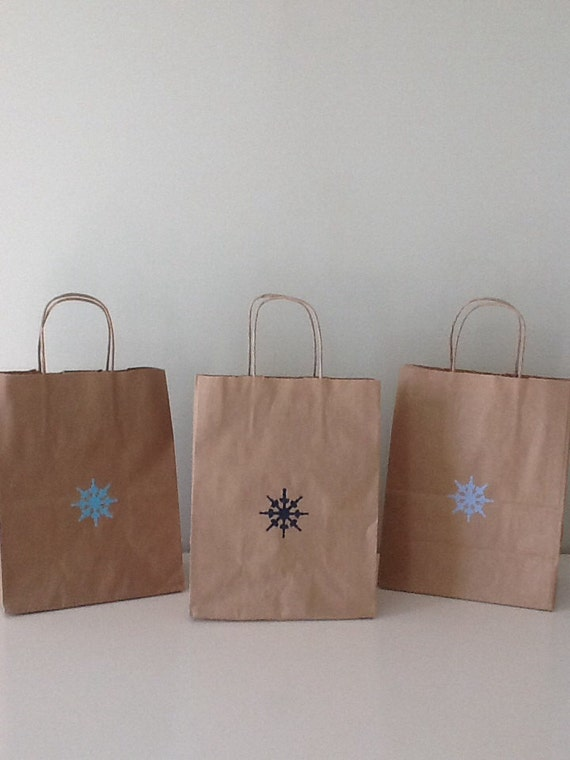 Kraft Paper Bags Wedding Welcome Nautical Favor Bags