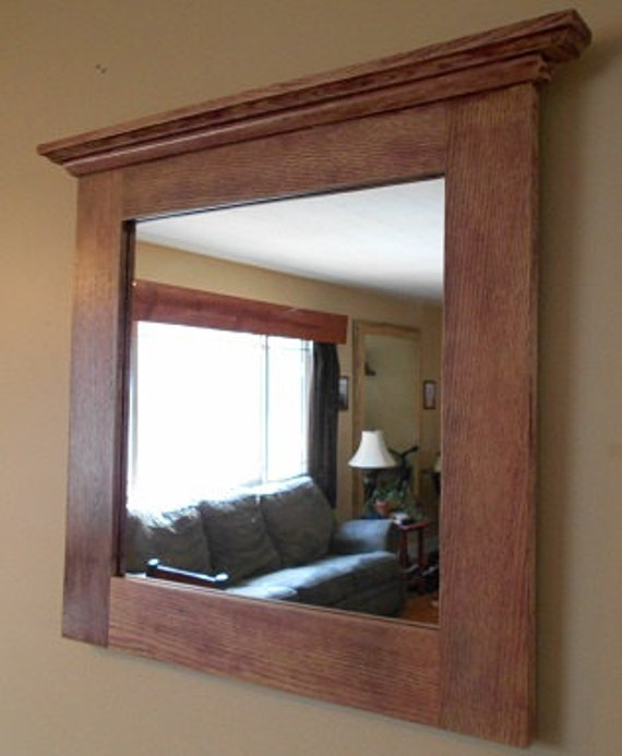 oak mirror rustic oak framed mirror custom made oak framed 13832