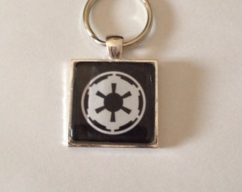 Imperial / Star Wars Pendant Necklace /Keychain