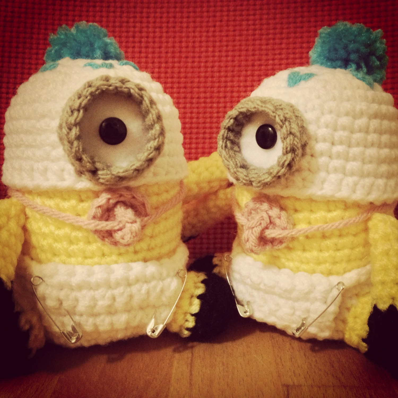 Baby minion pdf pattern crochet for amigurumi doll plush zoom bankloansurffo Choice Image