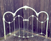 SALE through 08.31.13-Antique Style Cast Iron Bed Frame - HUEisit