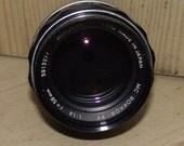 1970s Minolta Rokkor Lens