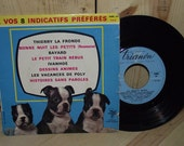1960s French 45 RPM Record