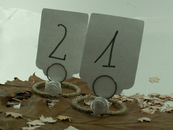 Rustic 12 table number wedding table numbers holiday dinner for 12 days of christmas table numbers