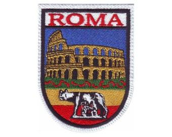 Rome Italy (B) Embroidered Sew On Patch