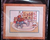 Bucilla cross stitch KIT Grandma's Attic 9 X 12 new
