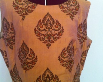 Vintage Namaste dress with matching bolero jacket.  Size small to medium