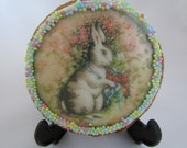 EASTER BUNNIES edible images for cookie decoration (wafer/rice paper)