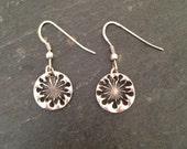 Dandelion wish earrings
