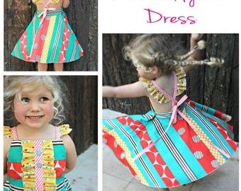 PATTERN Butterfly Tea Dress - PDF Sewing Pattern - Instant Download - Fresh Patterns