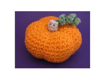 Amigurumi Crochet Pattern - Quick and Easy Pumpkin