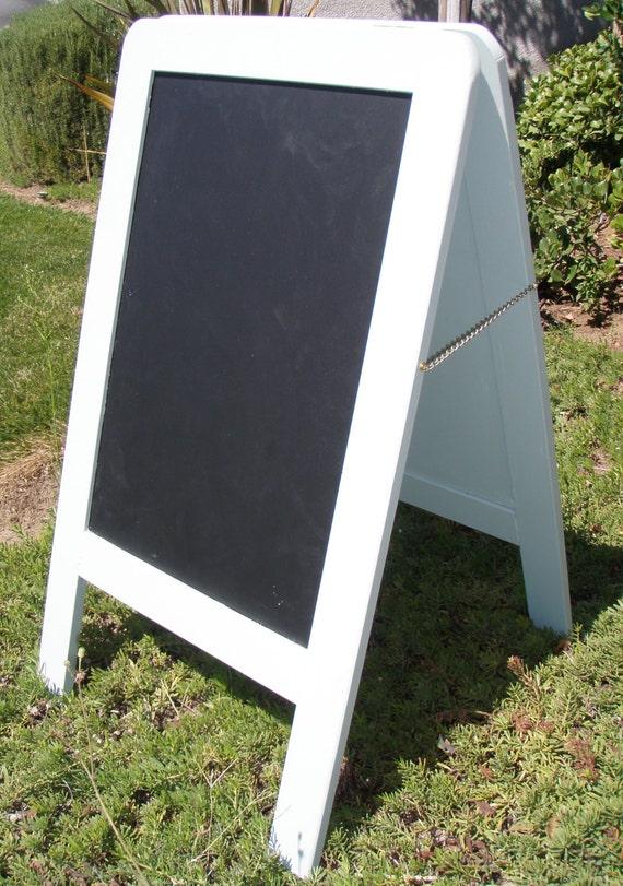 a frame wedding chalk board sandwich board chalk board. Black Bedroom Furniture Sets. Home Design Ideas