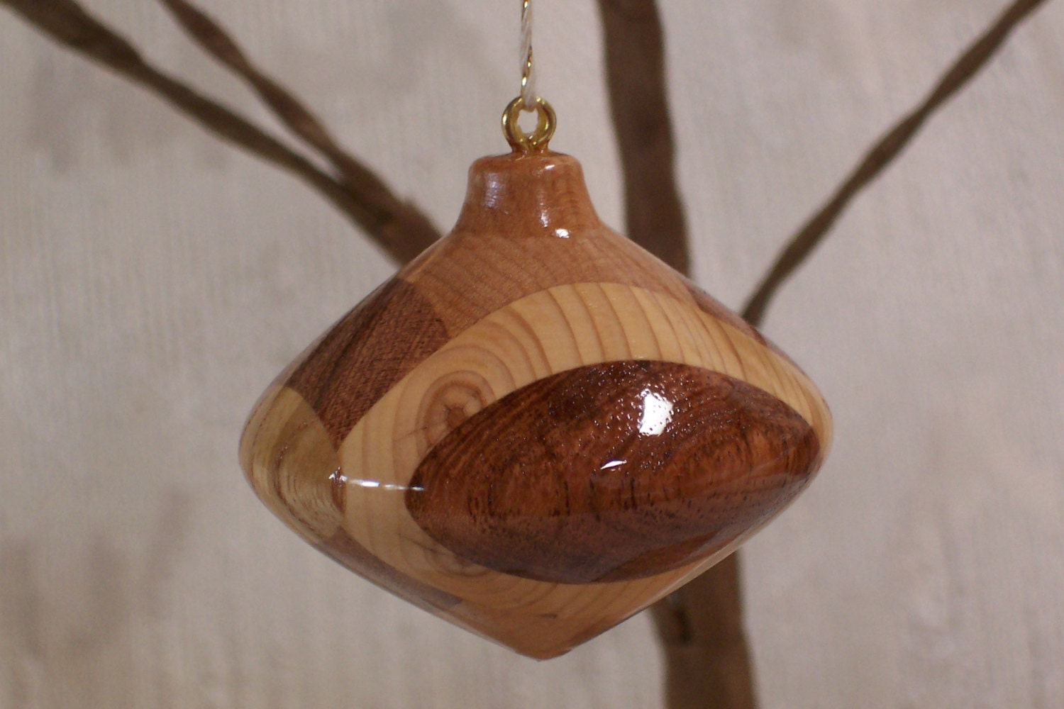 Turned Wood Ornament 22