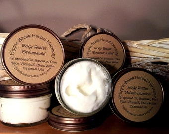 Body Butter Hand Made All Natural Face & Body Lotion