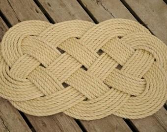Nautical Sisal Rope Rug (29 x 16)