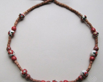 """Hutsul style necklace """"Summer flowers"""""""