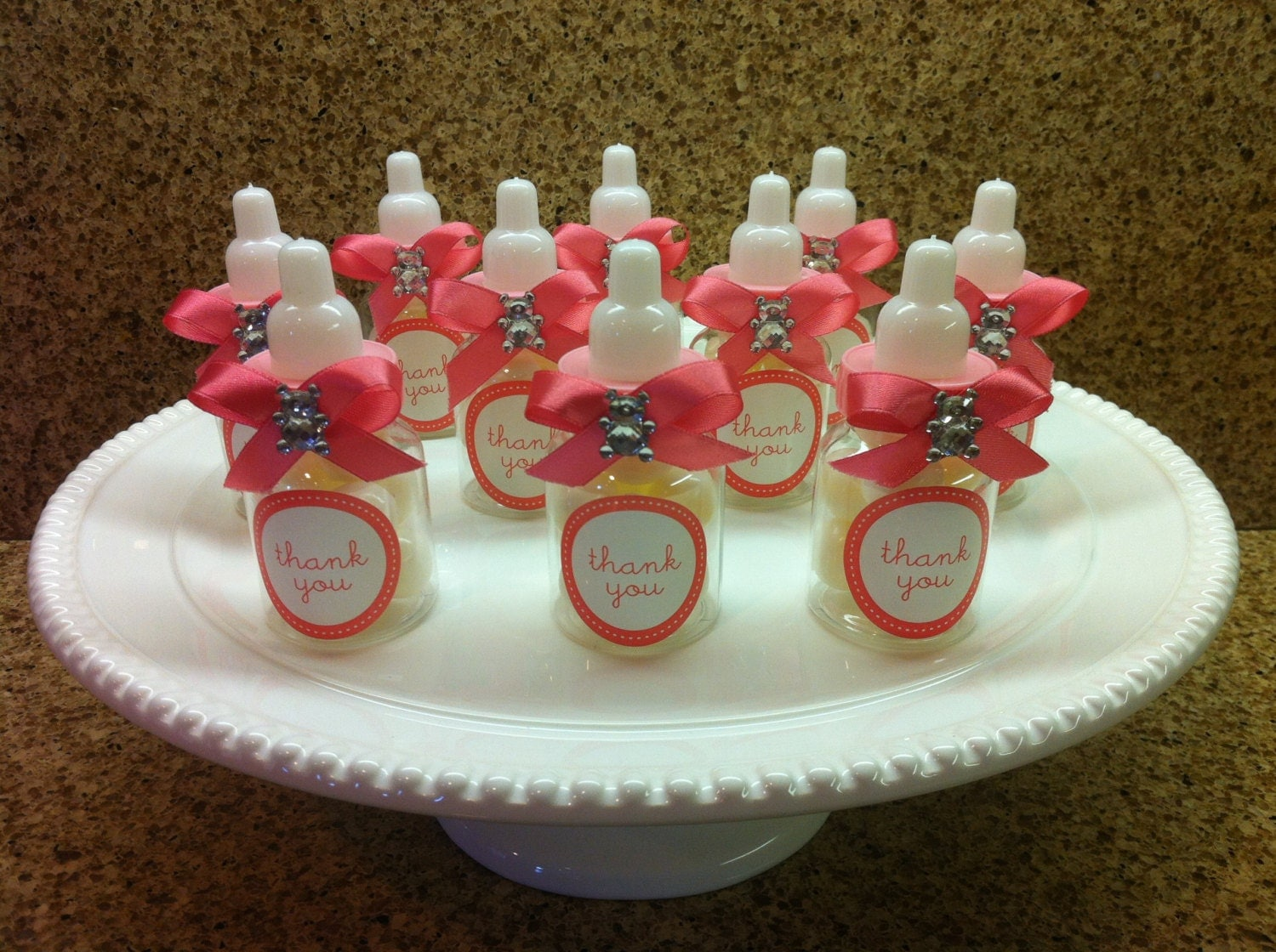 similar to baby shower favors baby bottles candy favors on etsy