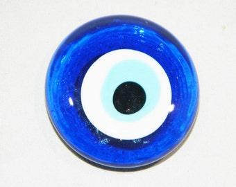 Traditional 4cm Lucky Evil Eye Turkish / Greek Fridge Magnet