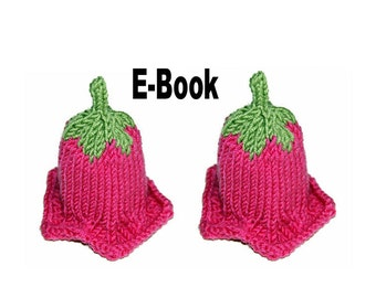 Knitting pattern eBook egg Bellflower