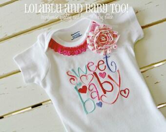 Baby Onesie, Newborn Onesie, Embroidery Onesie, Baby Shower, Newborn Gift
