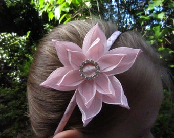 Handmade Headband/Alice Band Double Daylily
