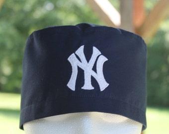 Mens scrub hat // New York Yankees