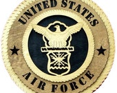 U.S. Air Force Personalized Plaque
