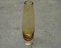 Mid Century Modern Glass Vase , Sweden.