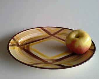 Mid Century Platter,Vernonware.