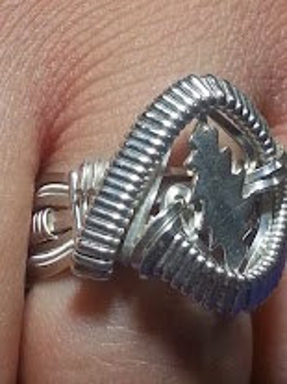 Owsley 13 Point Bolt Ring -BigBaller Wire Wrapped
